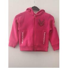 Tiroler Jacke, pink-weiß kariert
