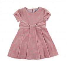 Rosa Kleid mit Glitter