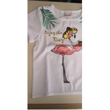 T-Shirt Flamingo enjoy the day