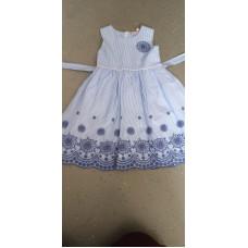 Sommerkleid Blau Elegant