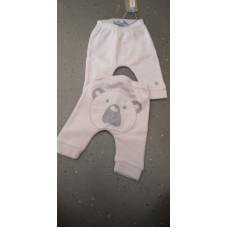 Baby Hose Pandabär weiß