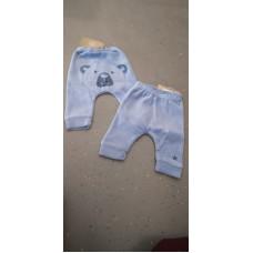 Baby Hose Pandabär blau