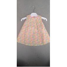 Baby Kleid Blumen bunt
