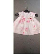 Baby Kleid Blumen Rosa Elegant