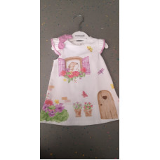 Baby Kleid Haus Rosa