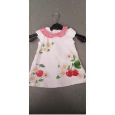 Baby Kleid Kirsche
