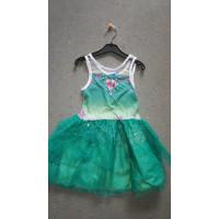 grünes Elsa-Kleid