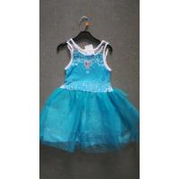 blaues Elsa-Kleid