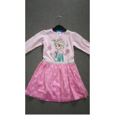 pinkes Elsa-Kleid
