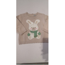 Baby Pullover Hase