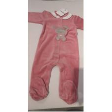 Baby Strampler rosa
