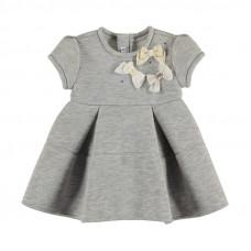 Baby Kleidchen in grau