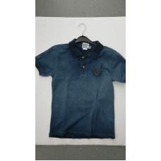"""dunkelblaues T-Shirt """"Hirsch"""""""