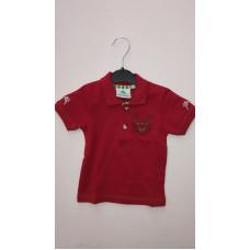 "rotes T-Shirt ""Hirsch"""