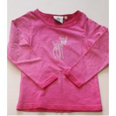 """Langarmshirt """"Rehkitz"""" pink"""
