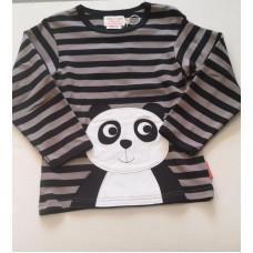 Langarmshirt Panda 100% Baumwolle