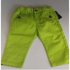 Baby Jeanshose in Neongrün