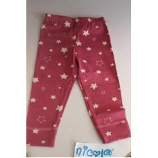 Baby Legging in Pink mit Sternen